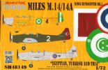 SH48149  1/48 Miles M.14 Hawk III /  Magister Mk.I 'Egyptian, Turkish and Thai'
